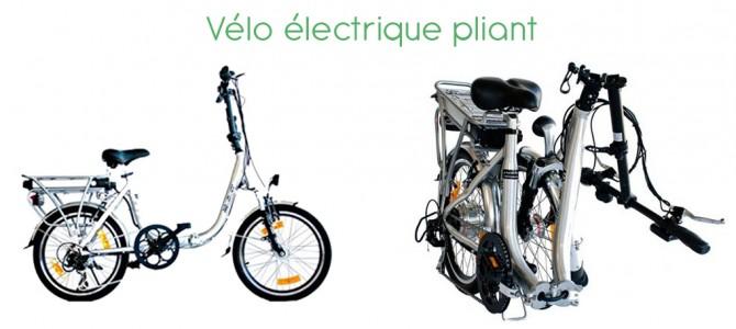 Le vélo électrique pliant : une solution économique et pratique